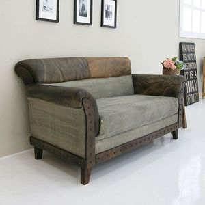 [스크레치SALE]Two seater Sofa (seria SBI SF 017)(SBI SF 017)_C2405