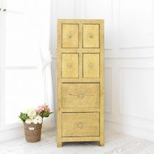 [매장전시SALE]★ [Vintage Gold] METAL DRAWER CHEST(serial sbi VD B 67)_M0100