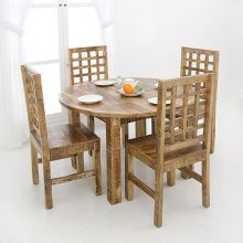 [▲한/정/수/량]  Vintage WOOD 1200 Dining Table (serial ART DT 001B)