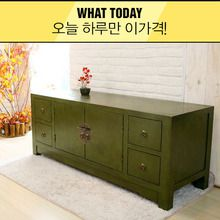 [WhatToday] 그린 크랙킹 거실장