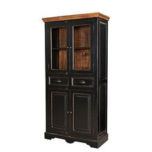 [100일예약][vintage wood] WOODEN GLASS CABINET (SBI VD B 346)