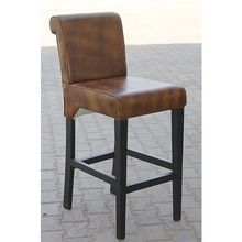[100일주문제작] LEATHER BAR CHAIR (SBI VD B 767)