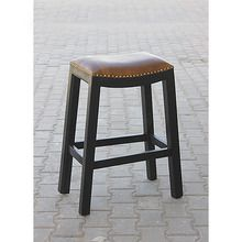 [100일주문제작] LEATHER BAR STOOL (SBI VD B 768)