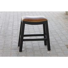 [100일주문제작] LEATHER STOOL (SBI VD B 769)
