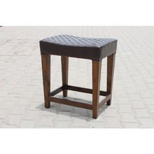 [100일주문제작] LEATHER STOOL (SBI VD B 774)