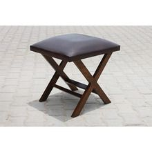 [100일주문제작] LEATHER STOOL (SBI VD B 775)