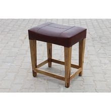 [100일주문제작] LEATHER STOOL (SBI VD B 776)