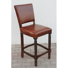[100일주문제작] LEATHER BAR CHAIR (SBI VD B 783)