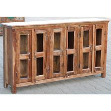 [100일예약][vintage wood] WOODEN GLASS SIDE BOARD (SBI VD B 623)