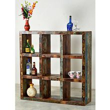[100일예약][vintage wood] VINTAGE WOODEN BOOK SHELF (SBI VD B 322)