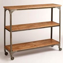 [100일주문제작] IRON WOODEN BOOK SHELF (SBI VD B 692)