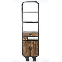 [100일예약] WOOD & IRON BOOK SHELF (SBI VD B 445)