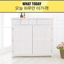 [WhatToday][White] 원목 w009 수납장